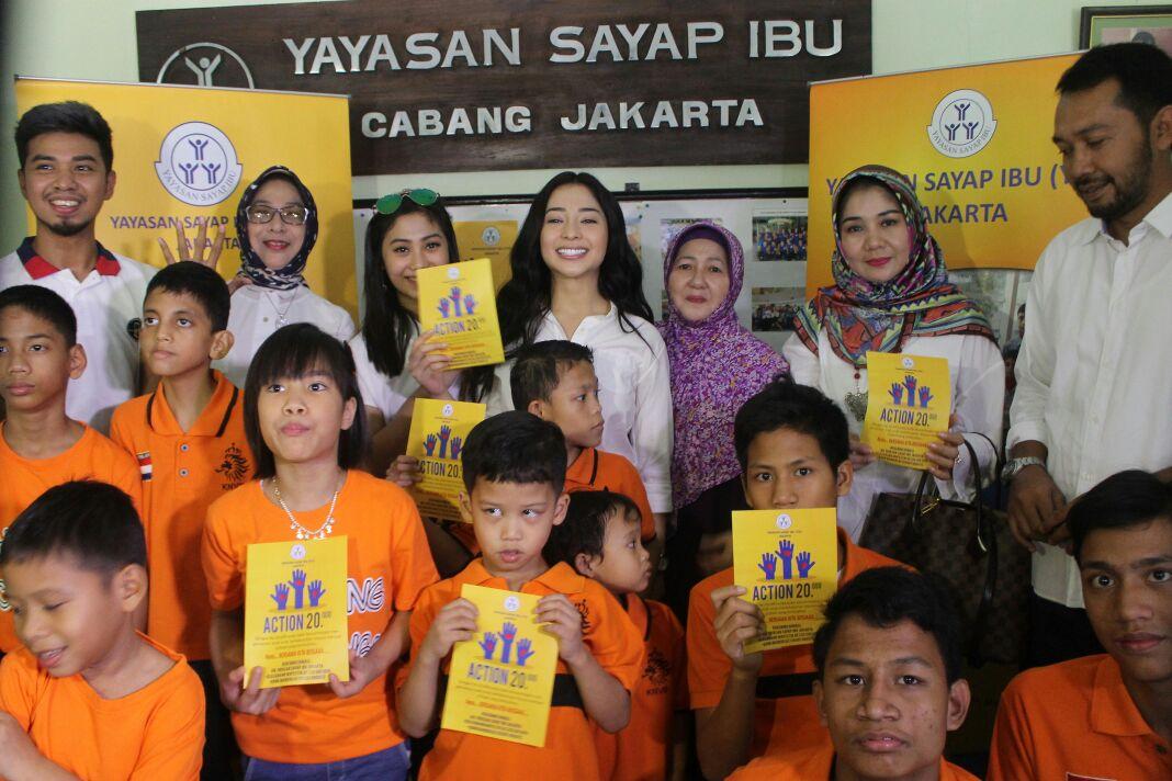 Ulang Tahun Nikita Willy Bersama Sayap Ibu Jakarta