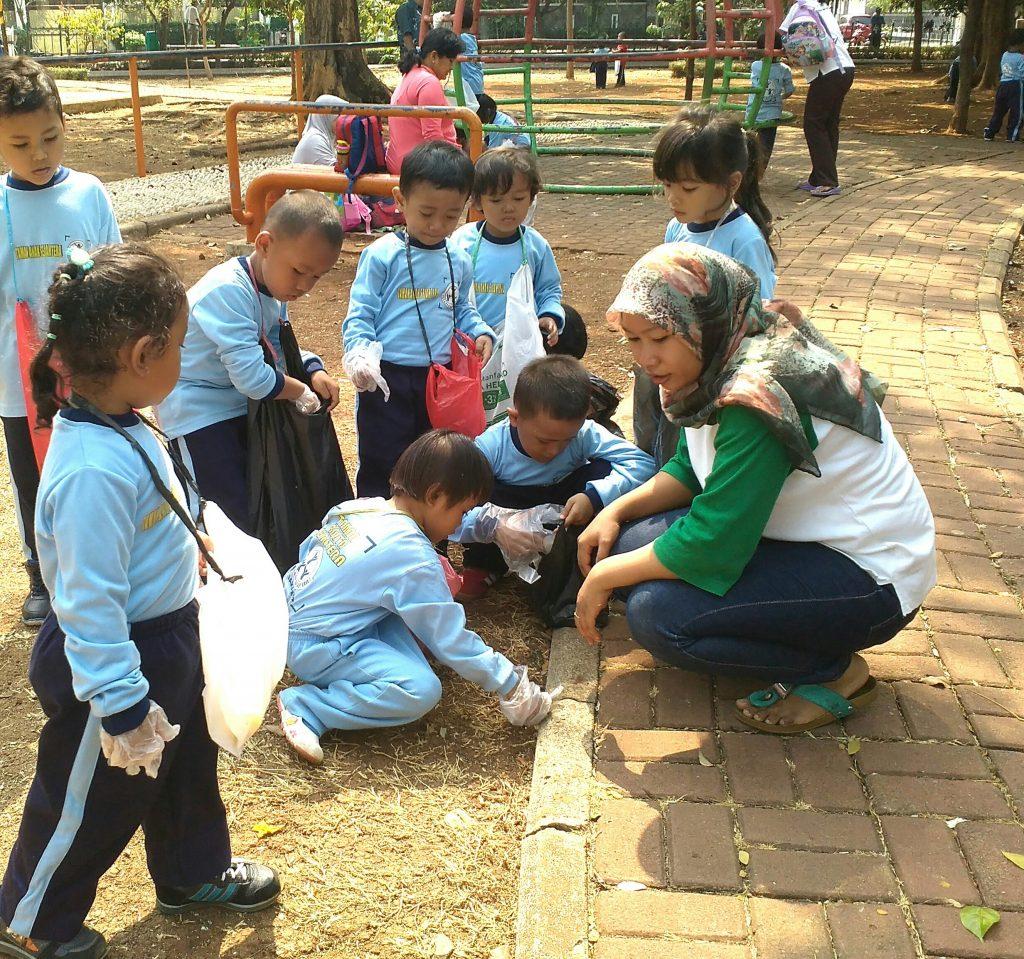 Gerakan Bersih Sehat Anak PAUD / TAS Sayap Ibu Jakarta - Menteng Wadas