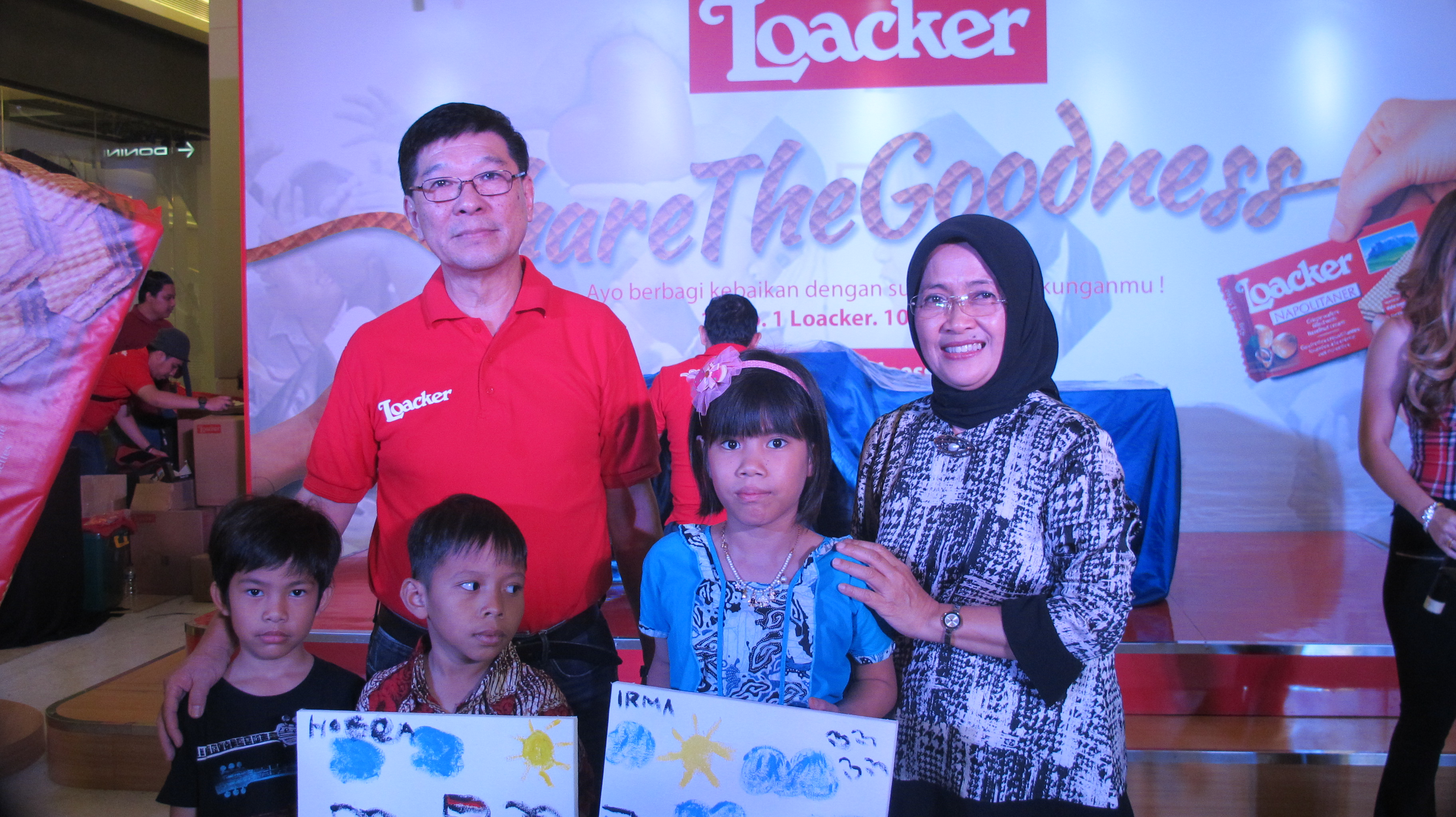 SHARE THE GOODNESS FROM LOACKER TO SAYAP IBU JAKARTA